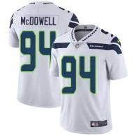 Nike Seahawks -94 Malik McDowell White Stitched NFL Vapor Untouchable Limited Jersey