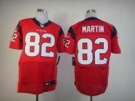 Nike Houston Texans #82 Keshawn Martin Red Alternate Men's Stitched NFL Elite Jersey