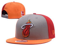 NBA Miami Heat Snapback Hat (651)