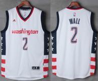Washington Wizards -2 John Wall New White Home Stitched Jersey