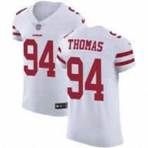 Nike 49ers -94 Solomon Thomas White Stitched NFL Vapor Untouchable Elite Jersey