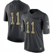 San Francisco 49ers -11 Quinton Patton Nike Anthracite 2016 Salute to Service Jersey