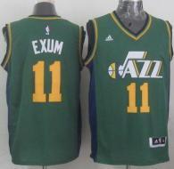Revolution 30 Utah Jazz -11 Dante Exum Green Stitched NBA Jersey