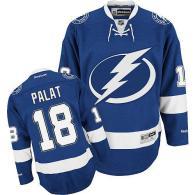 Tampa Bay Lightning -18 Ondrej Palat Blue Stitched NHL Jersey
