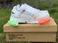 Authentic OFF-WHITE x Nike Air Presto white