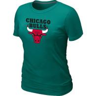 NBA Chicago Bulls Big Tall Primary Logo  Women T-Shirt (7)