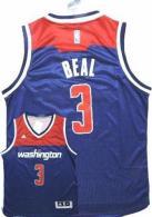 Washington Wizards -3 Bradley Beal Navy Blue Alternate Stitched NBA Jersey