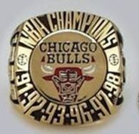NBA Chicago Bulls World Champions Gold Ring_2