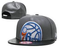 NBA Philadelphia 76ers Snapback Hat (21)
