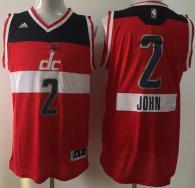 Washington Wizards -2 John Wall Red 2014-15 Christmas Day Stitched NBA Jersey