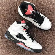 "Authentic Air Jordan 5 GS ""sunblush"""