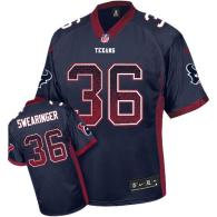 Nike Houston Texans #36 DJ Swearinger Navy Blue Team Color Men's Stitched NFL Elite Drift Fashion Je