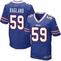 Nike Bills -59 Reggie Ragland Royal Blue Team Color Stitched NFL New Elite Jersey