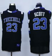 One Tree Hill Ravens -23 Nathan Scott Black Stitched Basketball Jersey