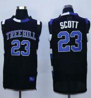 One Tree Hill Ravens -23 Nathan Scott Black Stitched Basketball Jersey