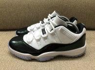 Authentic Air Jordan 11 Low Emerald