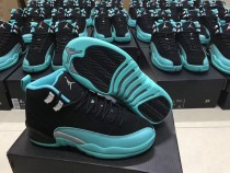 "Authentic Air Jordan 12 GS ""HYPER JADE"""