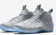 Authentic Nike Air Foamposite One Grey Suede
