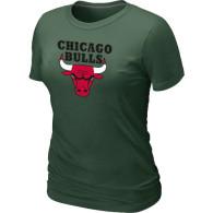 NBA Chicago Bulls Big Tall Primary Logo  Women T-Shirt (4)