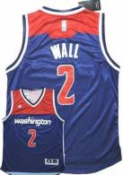 Washington Wizards -2 John Wall Navy Blue Alternate Stitched NBA Jersey