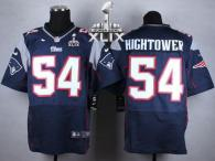 Nike New England Patriots -54 Dont'a Hightower Navy Blue Team Color Super Bowl XLIX Mens Stitched NF
