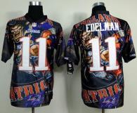 Nike New England Patriots -11 Julian Edelman Team Color Mens Stitched NFL Elite Fanatical Version Je