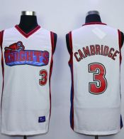 Like Mike Movie Los Angeles Knights -3 Calvin Cambridge White Stitched Basketball Jersey