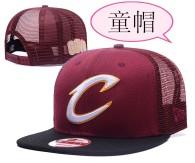 Cleveland Cavaliers kid Snapback Hat (1)