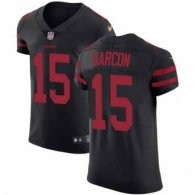 Nike 49ers -15 Pierre Garcon Black Alternate Stitched NFL Vapor Untouchable Elite Jersey