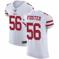 Nike 49ers -56 Reuben Foster White Stitched NFL Vapor Untouchable Elite Jersey