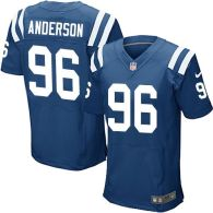 Nike Indianapolis Colts #96 Henry Anderson Royal Blue Team Color Men's Stitched NFL Elite Jersey