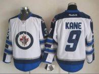 Winnipeg Jets -9 Evander Kane White 2011 Style Stitched NHL Jersey