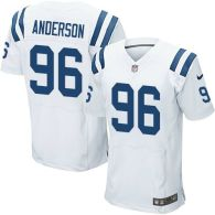 Nike Indianapolis Colts #96 Henry Anderson White Men's Stitched NFL Elite Jersey