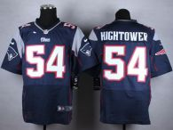 Nike New England Patriots -54 Dont'a Hightower Navy Blue Team Color Mens Stitched NFL Elite Jersey