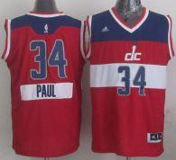 Washington Wizards -34 Paul Pierce Red 2014-15 Christmas Day Stitched NBA Jersey