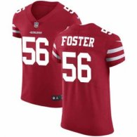 Nike 49ers -56 Reuben Foster Red Team Color Stitched NFL Vapor Untouchable Elite Jersey