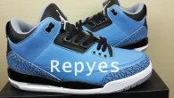 "Air Jordan 3 Retro ""Powder Blue"" Perfect"