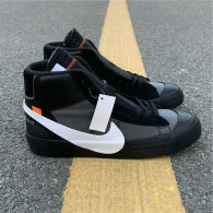 """Authentic OFF-WHITE x Nike Blazer Mid """"Grim Reepers"""" GS"""