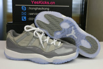 """Authentic Air Jordan 11 Low """"Cool Grey"""""""