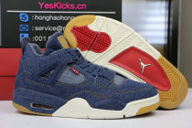 Authentic Levi's x Air Jordan 4