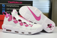 Sneaker Room x Nike Air More Money QS white pink