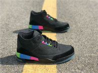 "Authentic Air Jordan 3 GS ""Quai 54"""