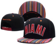 NBA Miami Heat Snapback Hat (683)