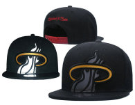 NBA Miami Heat Snapback Hat (681)