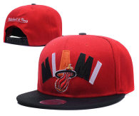 NBA Miami Heat Snapback Hat (678)