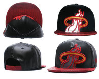 NBA Miami Heat Snapback Hat (677)