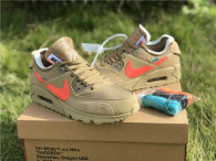 "Authentic Off-White x Nike Air Max 90 ""Desert Ore"" (women)"