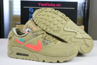 "Authentic Off-White x Nike Air Max 90 ""Desert Ore"""