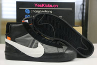 """Authentic OFF-WHITE x Nike Blazer Mid """"Grim Reepers"""""""