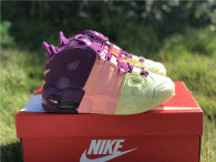 Authentic Nike Air More Uptempo GS Citron/Pink/Bright Purple
